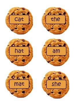 Cookie Jar Reading Center- CVC and Sight Word