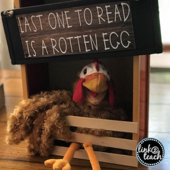 """Reading Coop Sign & """"How To"""" Freebie"""