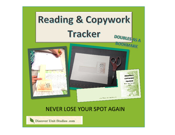 Reading & Copywork Tracker