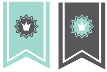 Reading Corner Bunting - Teal & Grey