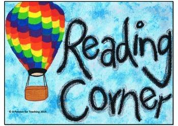 Reading Corner Poster