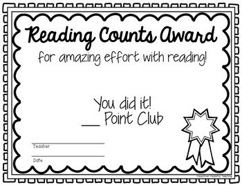 Reading Counts & Accelerated Reader Posters Bulletin Board Kit {Black Banner}
