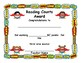 Reading Counts Award Certificate, Super Cute Super Hero Theme