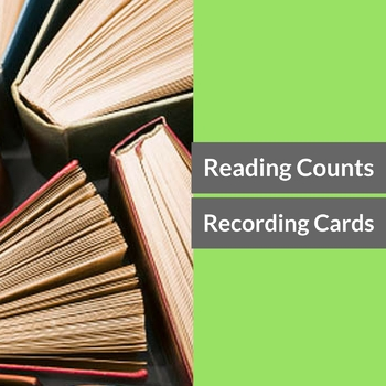 Reading Counts Goal Card