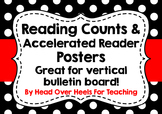 Reading Counts & Accelerated Reader Posters Bulletin Board Kit