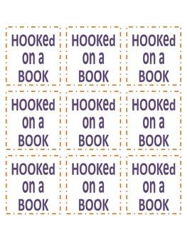Reading Coupon (Hooked on a Book)