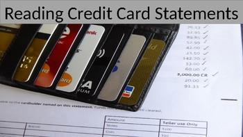 Financial Literacy: Reading Credit Card Statements (LINC/PBLA/ESL)