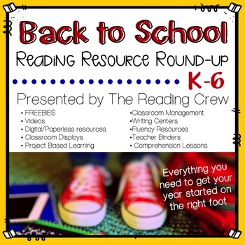 Reading Crew Back to School Reading Round Up eBook
