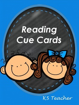 Reading Cue Cards