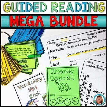 Guided Reading Activities | Reading Blocks™   MEGA BUNDLE