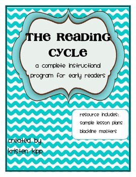 Reading Cycle - Full Program with lessons and blackline masters (daily 5)