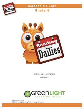 Reading Dailies Grade 4 Teacher's Guide