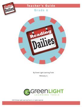 Reading Dailies Grade 6 Teacher's Guide