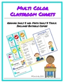 Reading Daily 5 and Math Daily 3 Charts and Tools