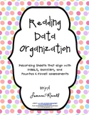 Reading Data Binder Organization for 20 - Recording Sheets & Cover