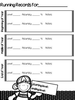 Reading Data Binder with Kids