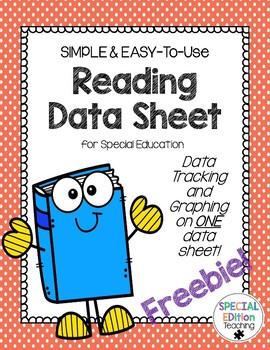 Reading Data Sheet