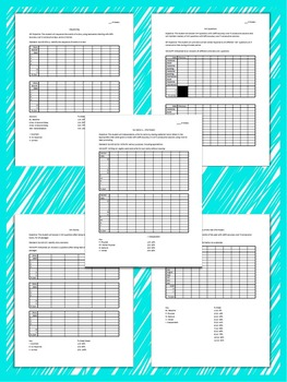 Reading Data Sheets for Special Education: Editable