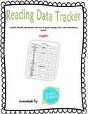 Reading Data Tracker and Smart Goal
