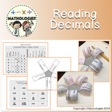 Distance Learning Reading Decimals