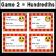 """Reading Decimals """"I Have...Who Has?"""" Games - Tenths & Hundredths Versions"""