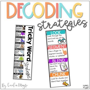 Reading Decoding Strategies Classroom Set