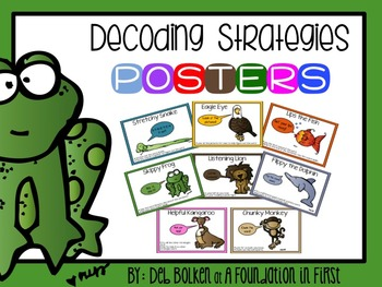 Reading Decoding Strategies POSTERS