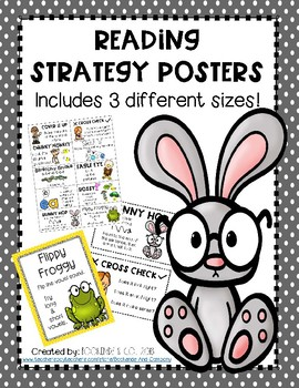 Reading/Decoding Strategies Posters and Bookmark