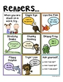Reading Decoding Strategies {Student Reference Card}