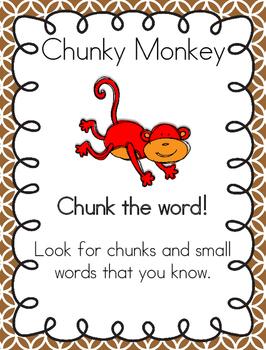 Reading Decoding Strategy...Chunky Monkey
