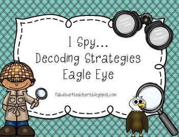 Reading Decoding Strategy...Eagle Eye