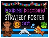 Reading Decoding Strategy Poster and Bookmark Set!