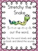 Reading Decoding Strategy...Stretchy Snake