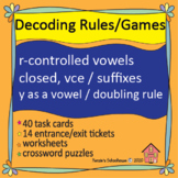 Reading Decoding Wilson Just Words Units 6-10