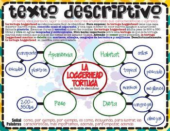 Reading - Description: Text Structure (English & Español)