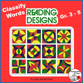 VOCABULARY   Early Finishers   GEOMETRIC DESIGNS   Color Gr 3-4-5 REVIEW