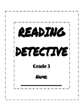 Reading Detective Booklet, Reading Street Sleuth Units 1, 2, 3, 4, 5, & 6