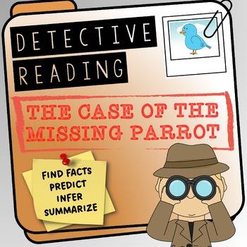 Reading Detective Investigation - predictions, finding information, summarizing