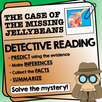 Reading Detective Investigation - predictions, finding information, summarizing