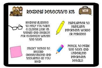 Reading Detective Kit
