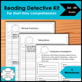 Reading Detective Kit for short story comprehension