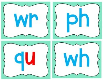 Reading Detectives- Flash cards for finding chunks within words!