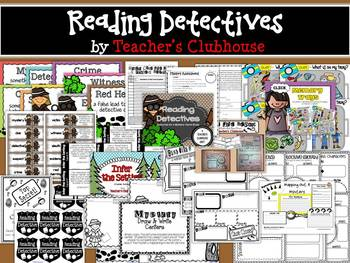 Reading Detectives Unit from Teacher's Clubhouse