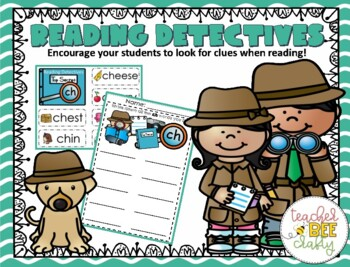 Reading Detectives-digraphs, diphthongs, long vowels, r-controlled