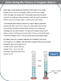 Reading - Determining the Volume of Irregular Objects