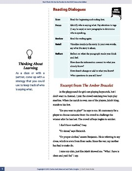 Reading Dialogue — OSSLT Prep — interactive