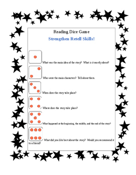 Reading Dice Game