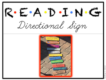 Reading Directional signs
