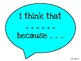 Reading Discussion Sentence Starter Posters