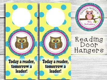 Reading Door Hangers